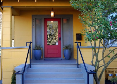 Front door of the Seattle Mindfulness Center