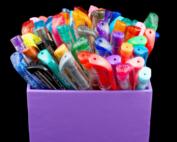 gel pen coloring